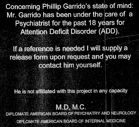 Garrido Spiritual Manifesto